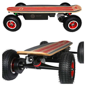 Fiik Street Surfer 13ah Lithium - All Terrain Skateboard