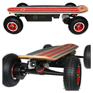 Fiik Street Surfer 30ah Enduro Lithium - All Terrain Skateboard