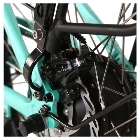 Image of malibu elite rear disc brakes