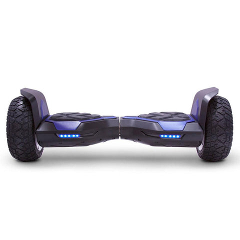 Image of mototec hoverboard ninja blue front