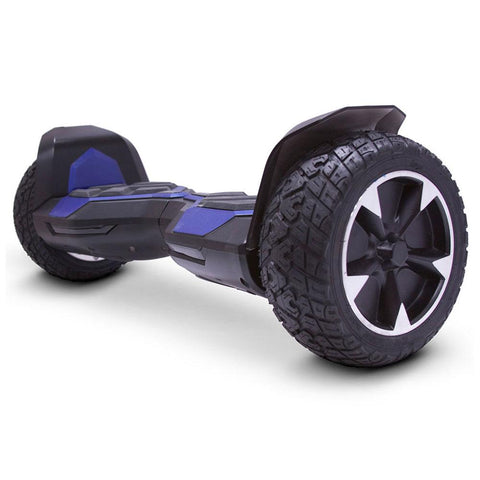 Image of mototec hoverboard ninja blue left angle