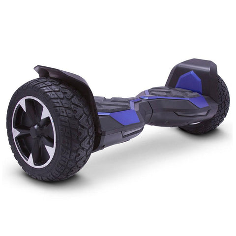 Image of mototec hoverboard ninja blue right angle