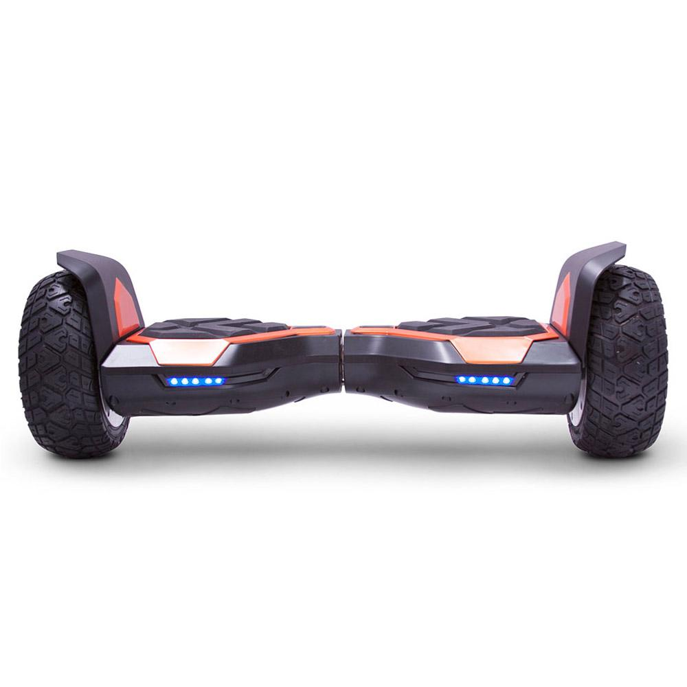 mototec hoverboard ninja orange front