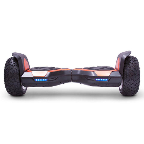 Image of mototec hoverboard ninja orange front