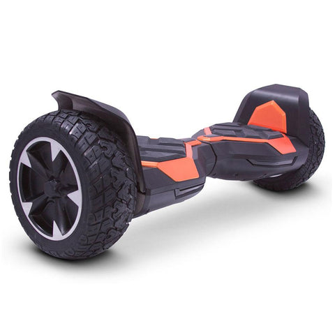 Image of mototec hoverboard ninja orange right angle