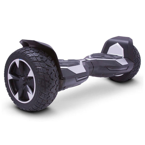mototec hoverboard ninja silver right angle