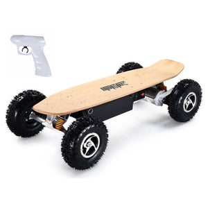 mototec 1600w dirt skateboard left angle