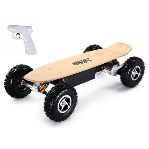 Image of mototec 1600w dirt skateboard left angle