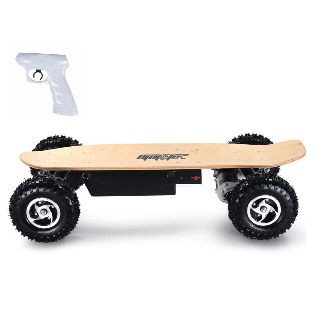 mototec 1600w dirt skateboard left side
