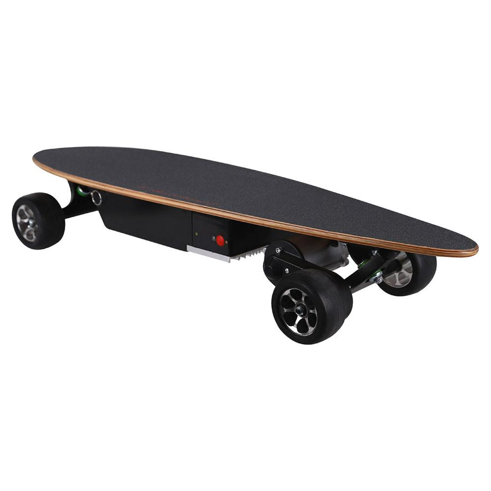 mototec 400w street skateboard feature power button
