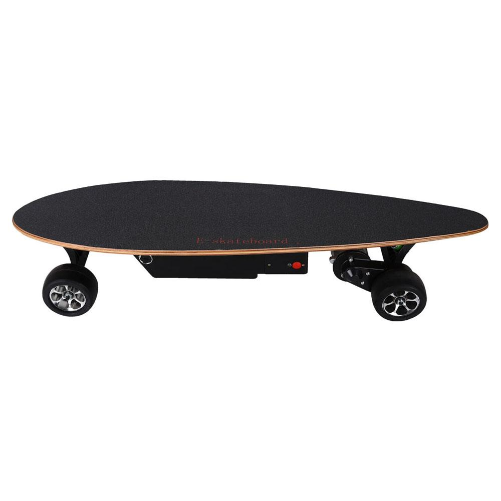 mototec 400w street skateboard left side