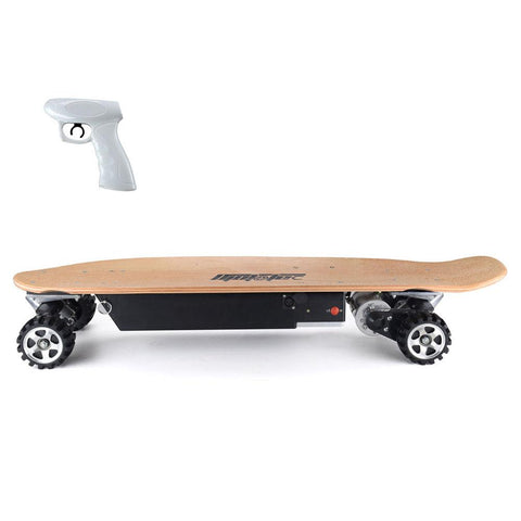 mototec 600w street skateboard left side
