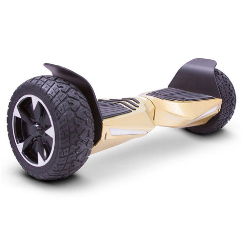Image of mototec hoverboard transformer gold right angle