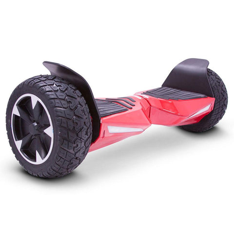 Image of mototec hoverboard transformer red right angle