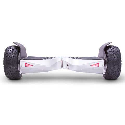Image of mototec hoverboard transformer silver back