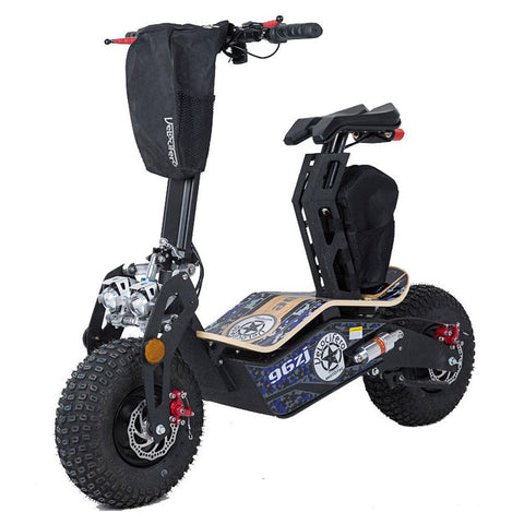 Image of mototec mad 1600w scooter left angle