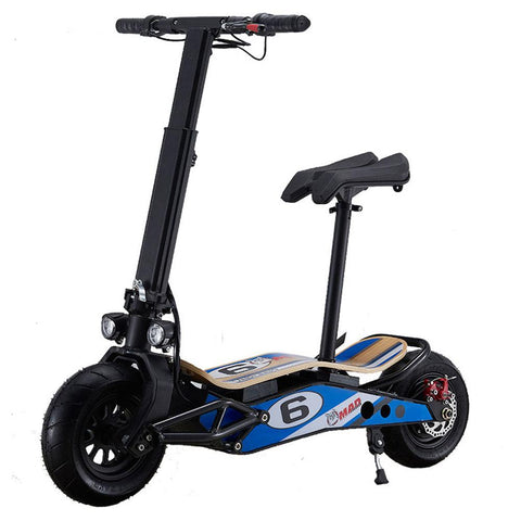 Image of mototec minimad 800w scooter left angle