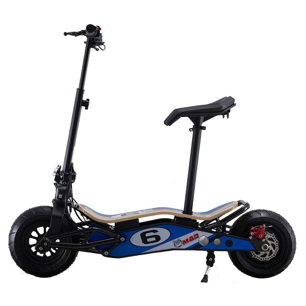 mototec minimad 800w scooter left side