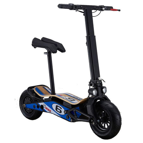 Image of mototec minimad 800w scooter right angle
