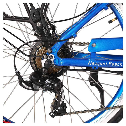 Image of newport elite 24v rear sprocket and derailleur
