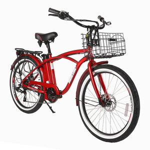 X-Treme Newport Elite 24 Volt Beach Cruiser Electric Bike