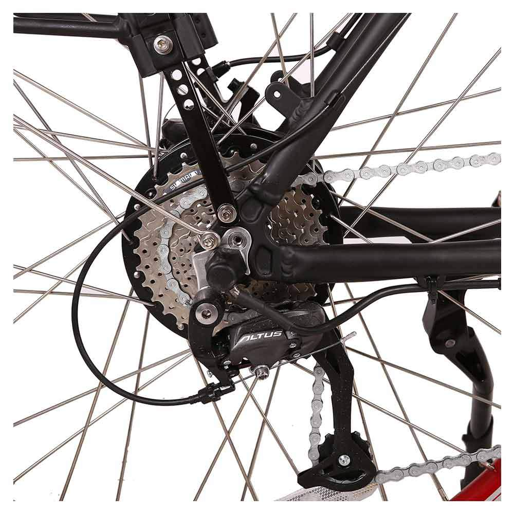 santa 48v rear sprocket and derailleur