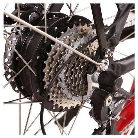 Image of santa 48v rear sprocket