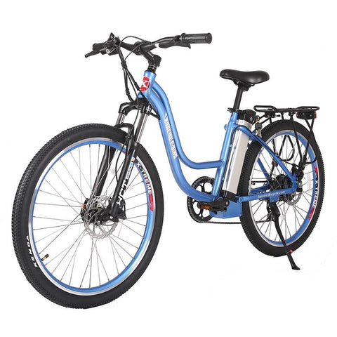 Image of trail climber 24v elite baby blue left angle