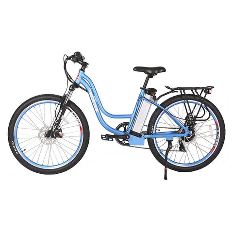 Image of trail climber 24v elite baby blue left side