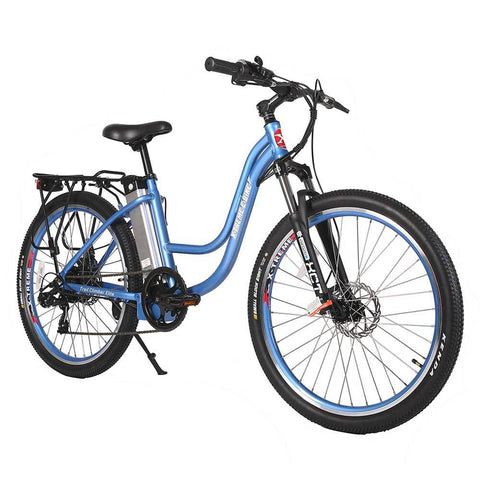 Image of trail climber 24v elite baby blue right angle