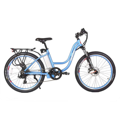 Image of trail climber 24v elite baby blue right side
