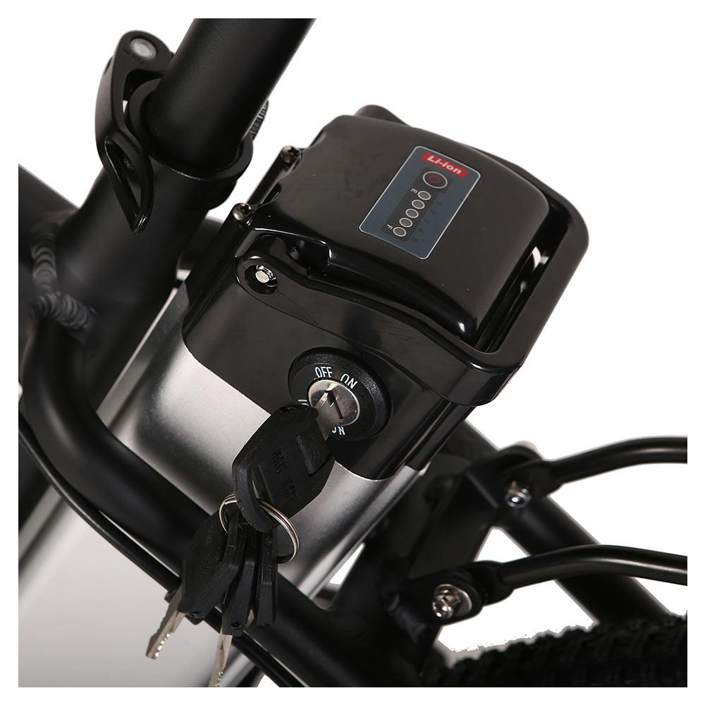 trail climber 24v elite bike battery close up