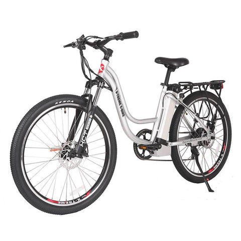 Image of trail climber 24v elite silver left angle