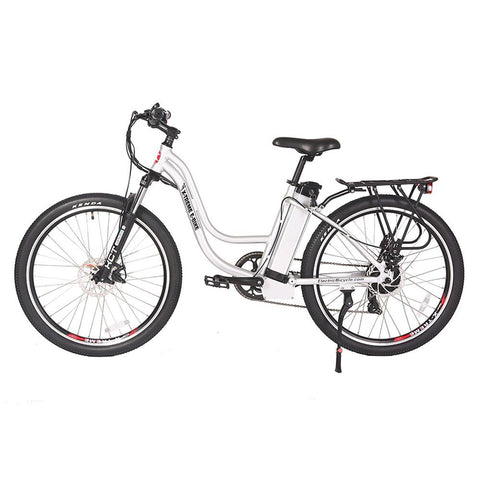 Image of trail climber 24v elite silver left side