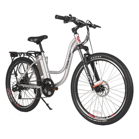 Image of trail climber 24v elite silver right angle