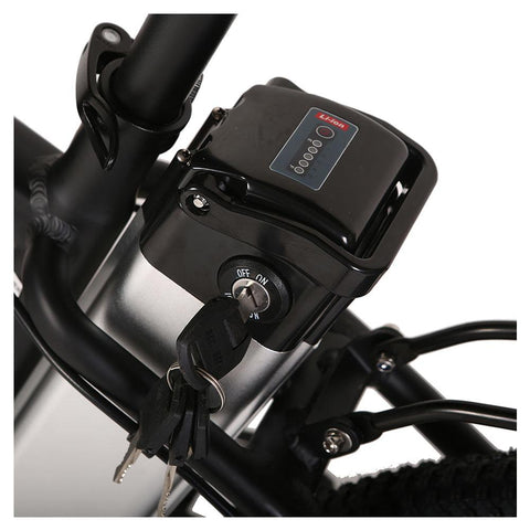 Image of trail maker elite 24v battery close up