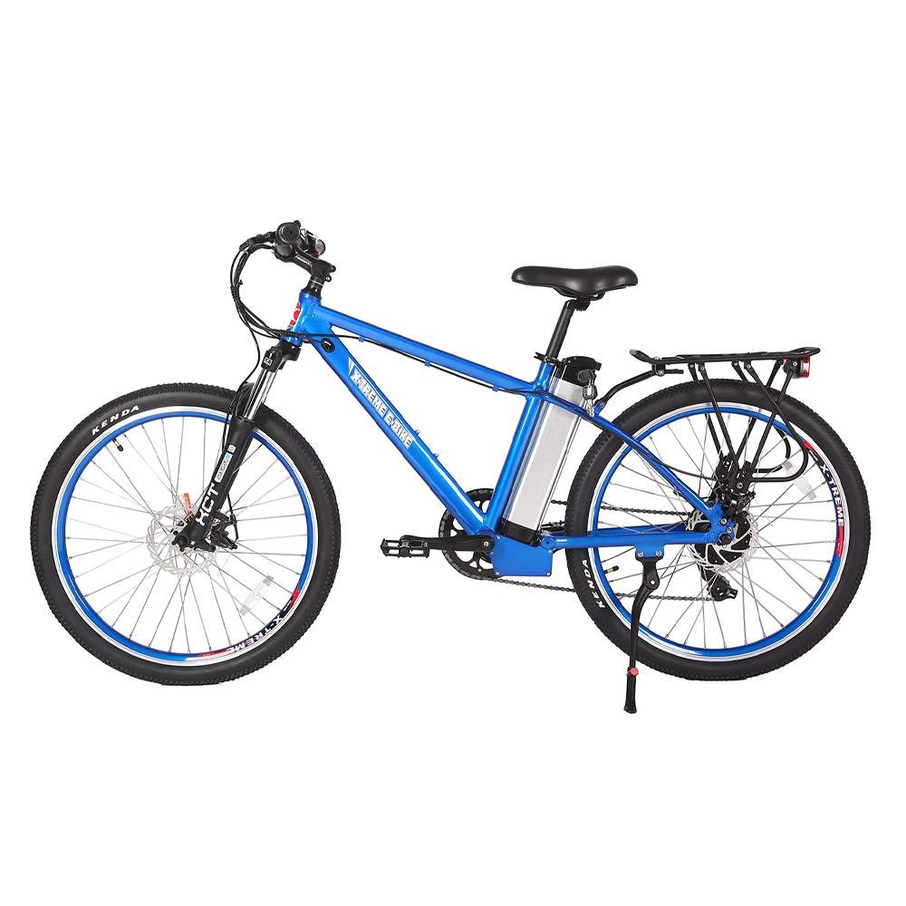 trail maker elite 24v metallic blue left side