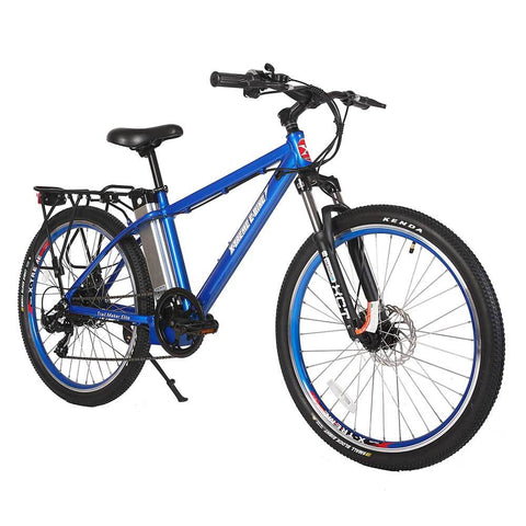 Image of trail maker elite 24v metallic blue right angle