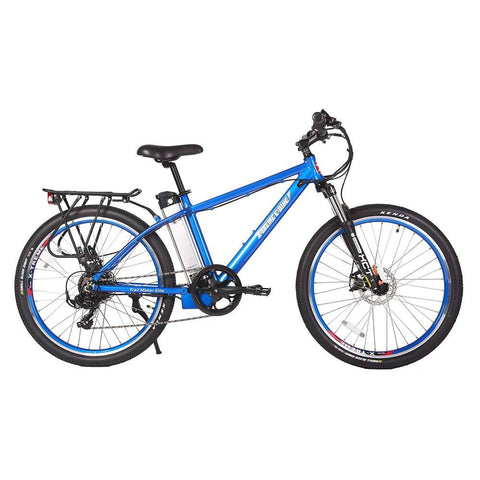 trail maker elite 24v metallic blue right side