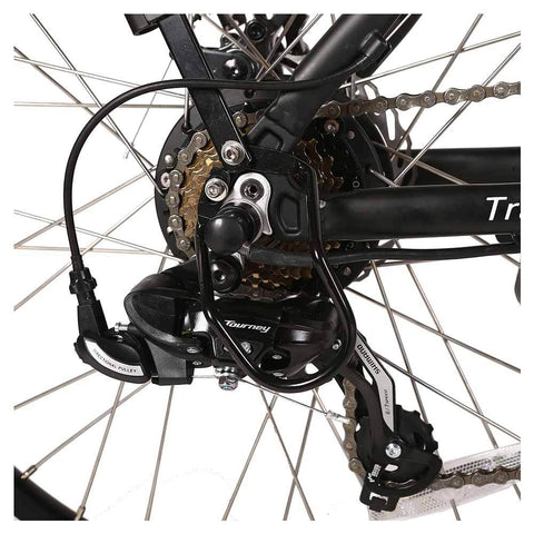 Image of trail maker elite 24v rear sprocket and derailleur