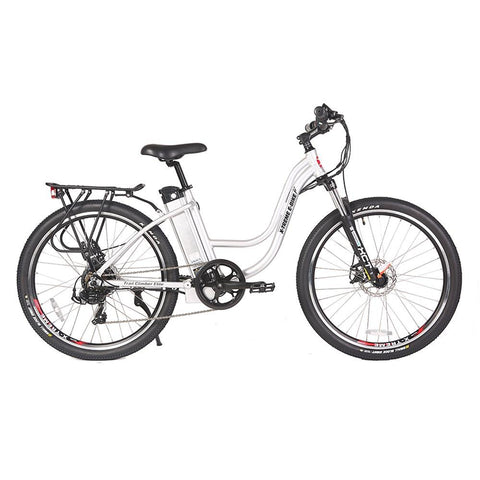 Image of trail climber 24v elite silver right side