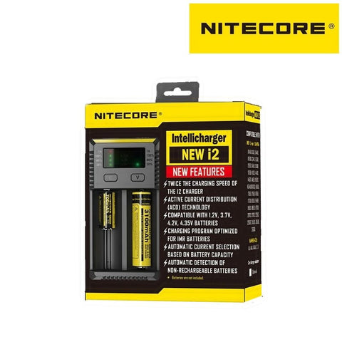Nitecore NEW i2 Charger - Vapeville.co.za
