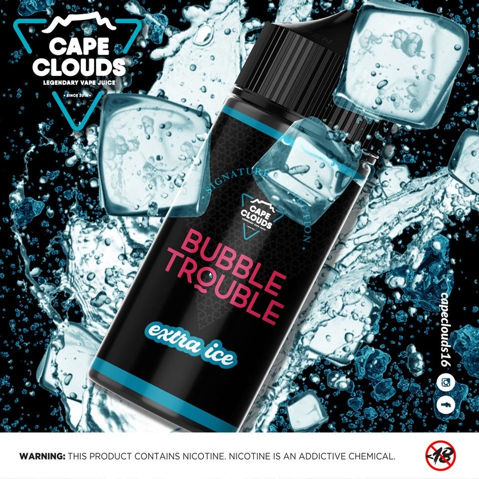 Cape Clouds - Bubble Trouble (Extra ICE) 120ML