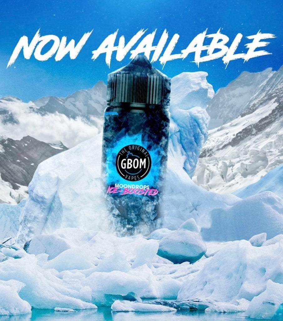 GBOM - Moondrops on ICE (ICE Boosted) - 120ml