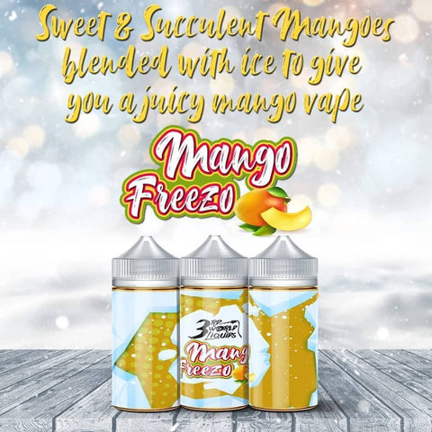 3rd World Liquids - Mango Freezo 100ml - Vapeville.co.za