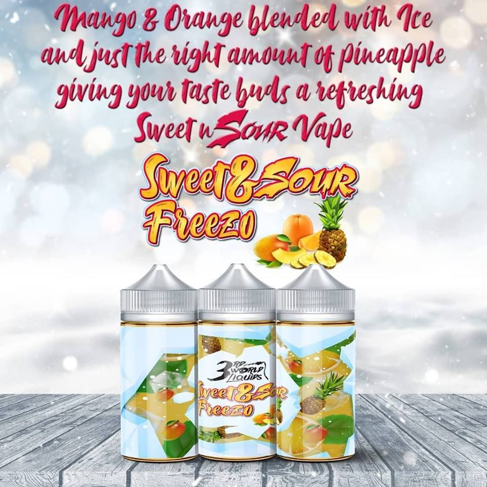 3rd World Liquids - Sweet and Sour Freezo 100ml - Vapeville.co.za