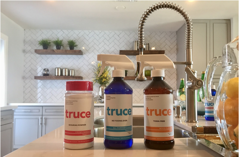 The Safest way to get toxins away from our homes : The Truce Clean way