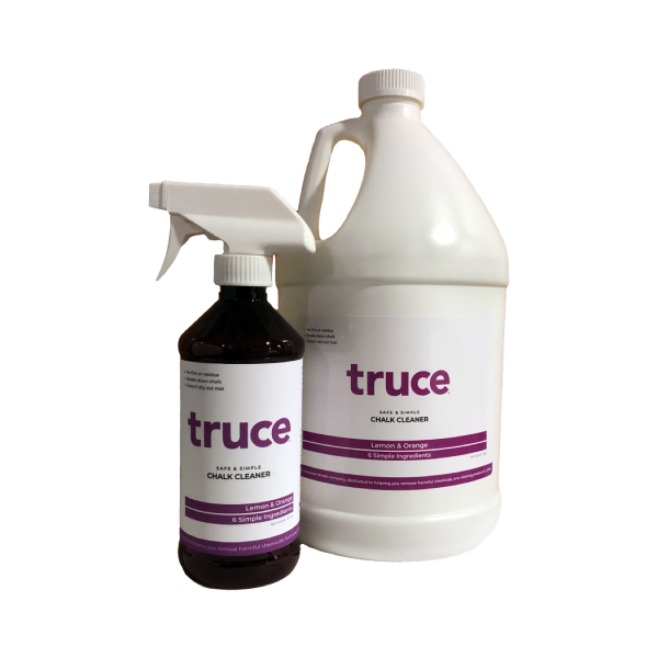 Truce Chalk Remover, 1 Gallon Size, Commerical Cleaning Supply