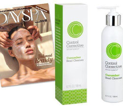 DaySpa Magazine featuring Cucumber Bead Cleanser