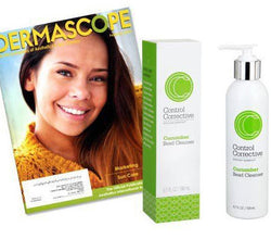 Dermascope featuring Cucumber Bead Cleanser
